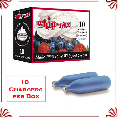 Whip Cream Chargers - (10 pack)
