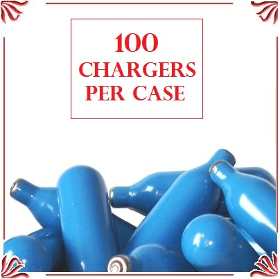 Whip Cream Chargers - (100 case)