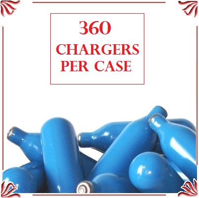 Whip Cream Chargers - (360 case)