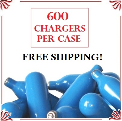 Whip Cream Chargers - (600 case)